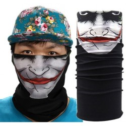 Balaclava mascara guasón tubular sin costuras