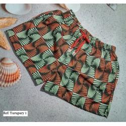 Pantaloneta - short abstracta