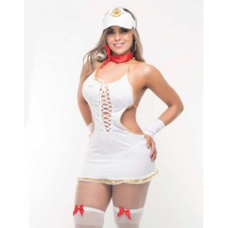 Disfraz de mujer piloto