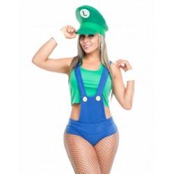 Disfraz de Luigi sexy