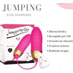 Huevo vibrador remoto Jumping Egg Diamond