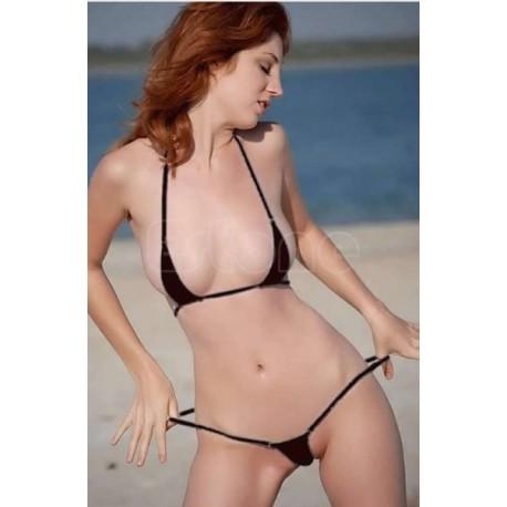 Nano bikini hilo para bronceo